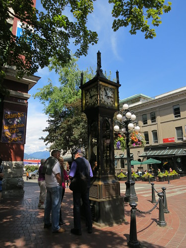 Steam Clock Vancouver BC