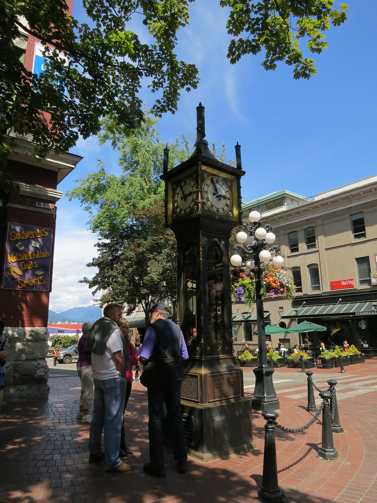 Steam Clock Vancouver BC