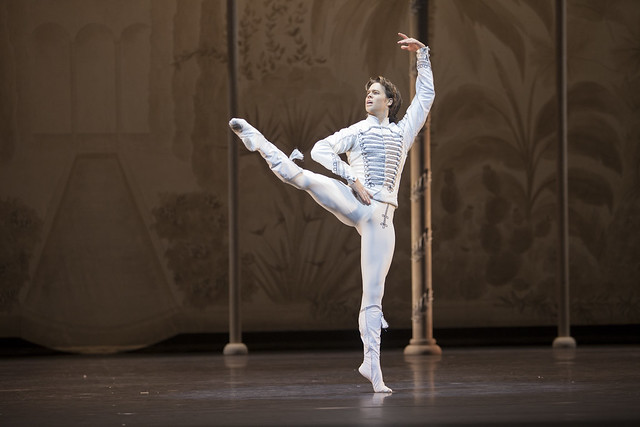 Matthew Golding in Paquita, with the Dutch National Ballet © Angela Sterling