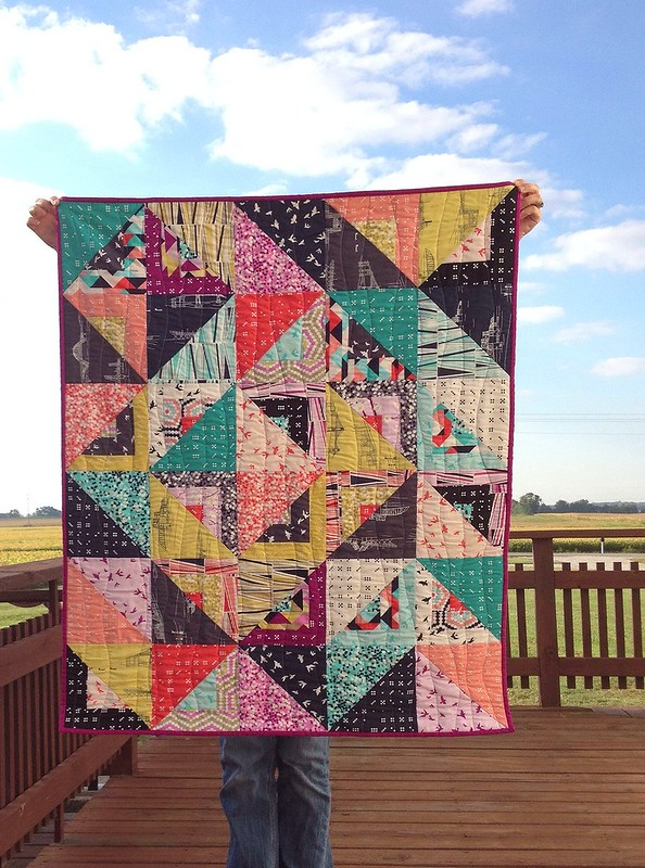 Waterfront Park Baby Quilt
