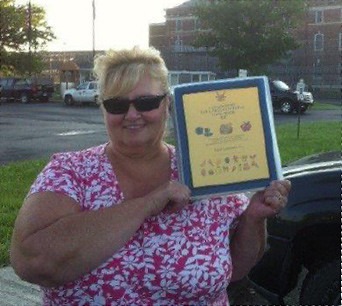 Judy Fielder - Coxsackie staff recognizes Corizon employee