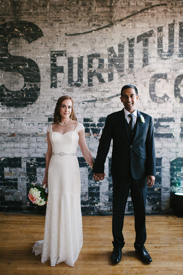Nadia & Roberto's beautiful wedding at The Burroughes Building (Toronto)