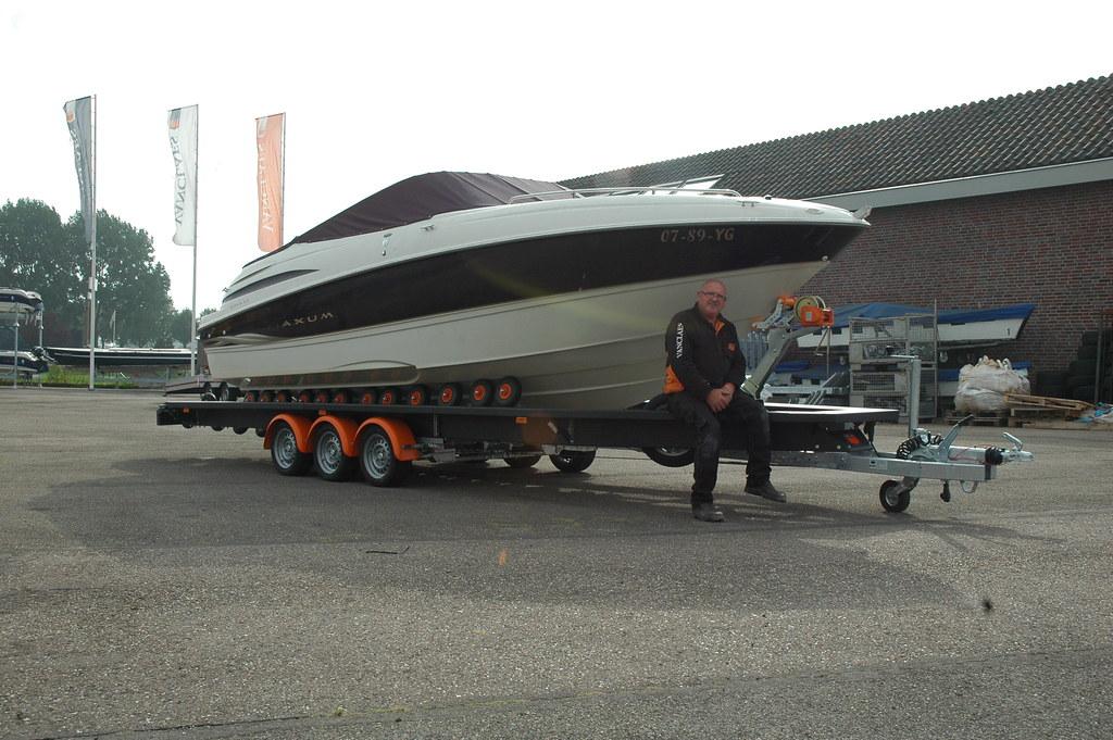 Vanclaes Boottrailer voor Speedboot 5