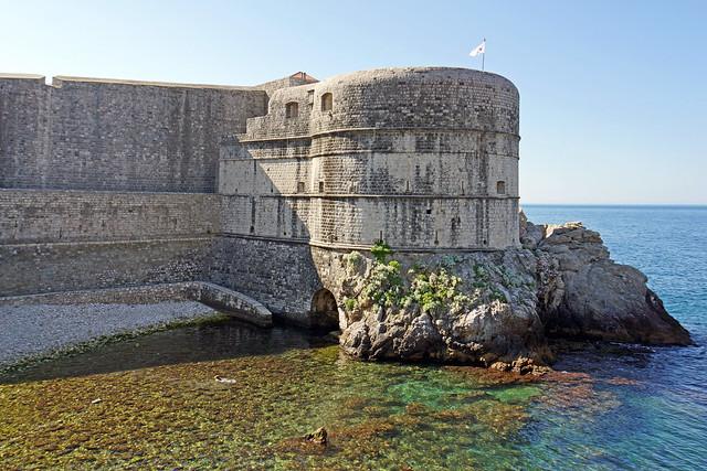 Fuerte Bokar. Casco antiguo de Dubrovnik. Croacia.