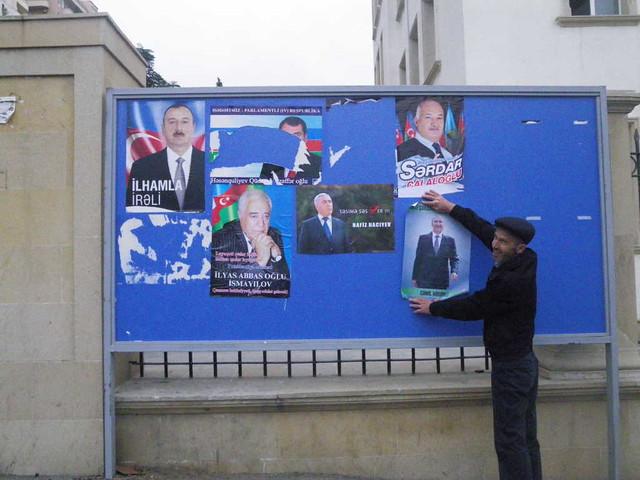 Panneau électoral
