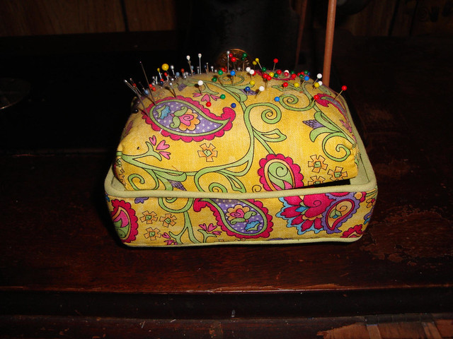 Pin Cushion Box