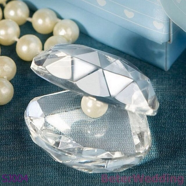 seashell pepper weight wedding favors