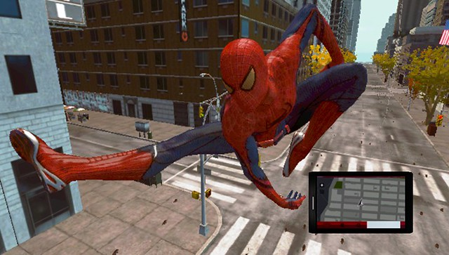 The Amazing Spider-Man on PS Vita