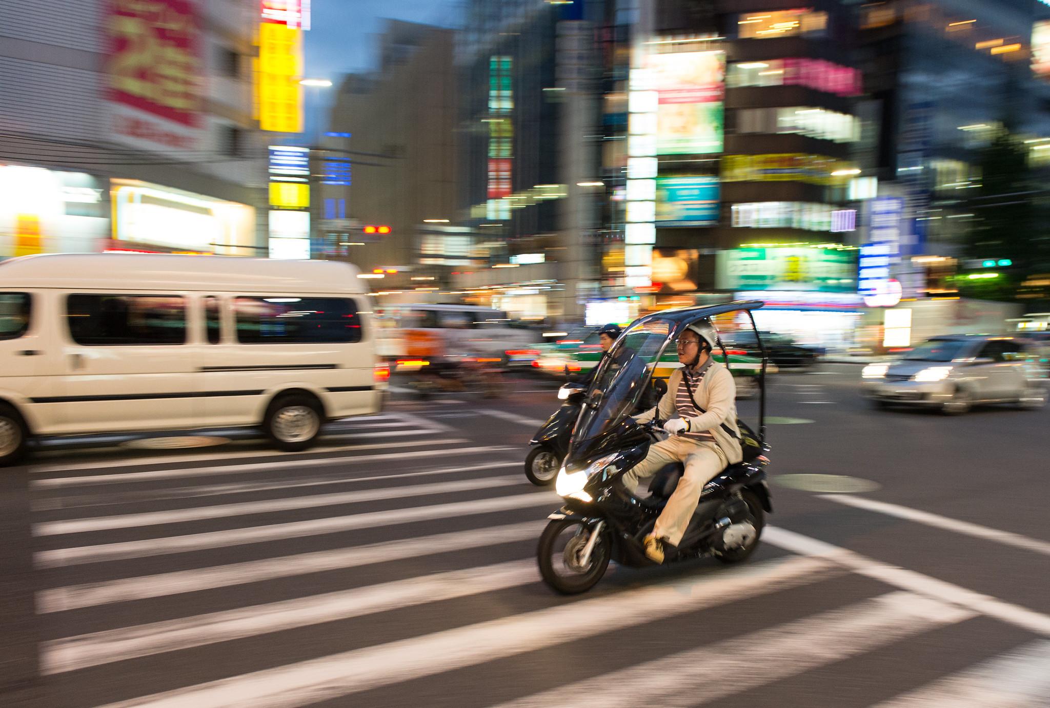 Shinjuku Biker