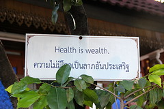 Healt is wealth.