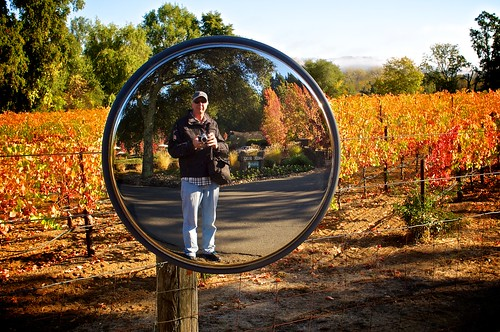 Self Portrait in Dry Creek