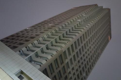 RX100M2 ビル夜景