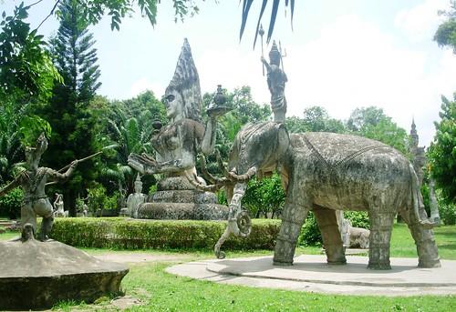 Vientiane 2007-Bouddha Park (22)