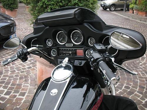 Harley-Davidson dashboard