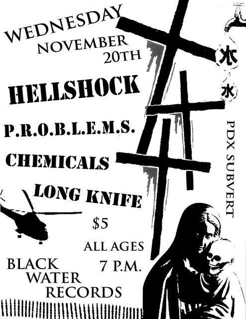 11/20/13 Hellshock/Problems/Chemicals/LongKnife