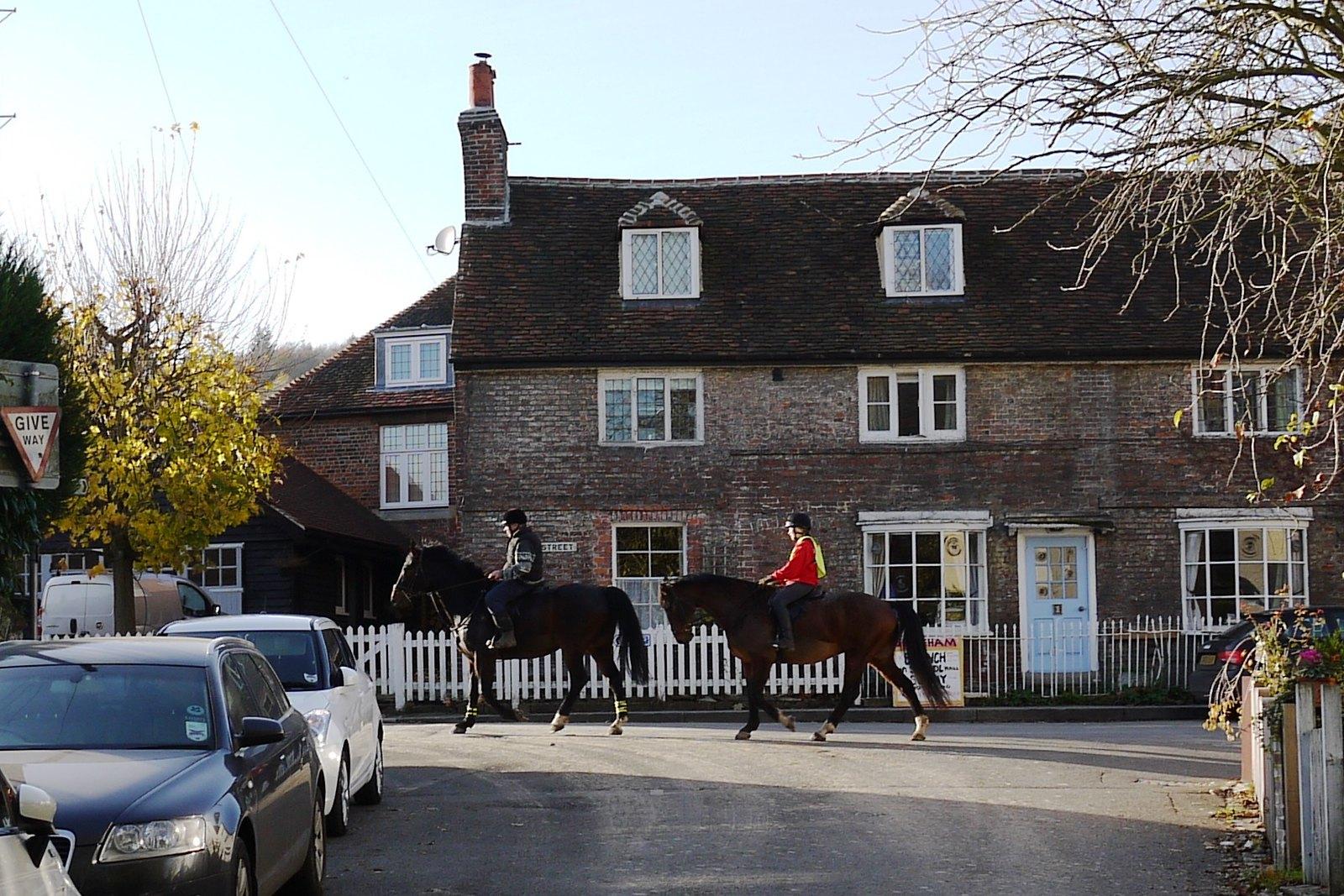 Horses, Shoreham Otford to Eynsford