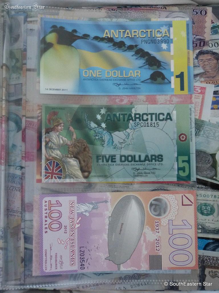 Antarctica Overseas Exchange Banknotes