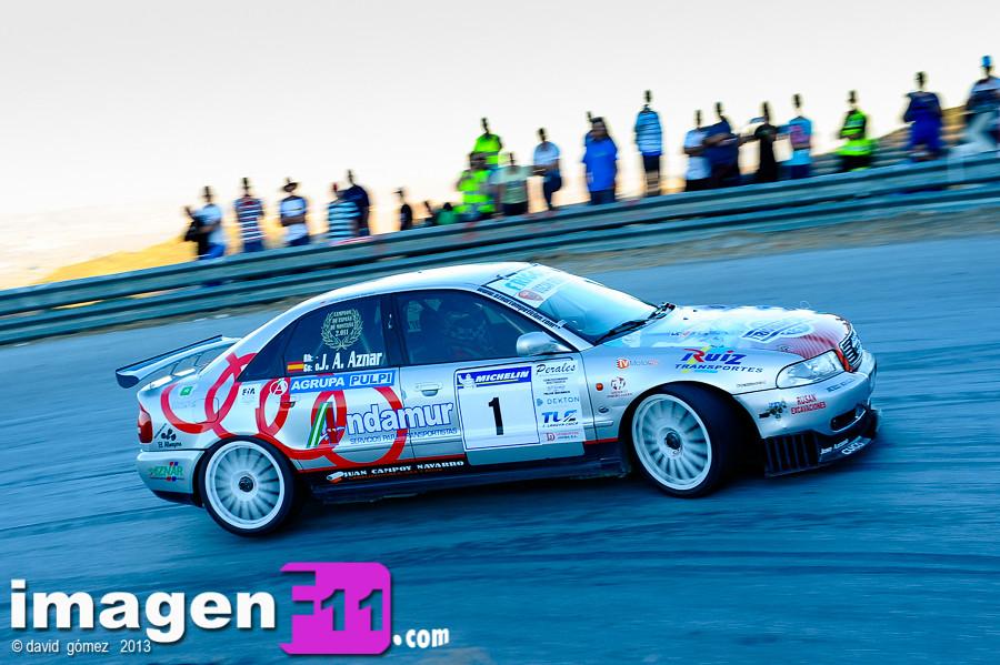 Jose Antonio Aznar, Audi A4 ST, Subida del Marmol. Campeonato Andalucía Montaña, Subida
