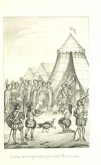 Image taken from page 201 of 'Historia de la Conquista de México ... traducida al Español por J. Navarro. (Suplemento. Notas y esclarecimientos ... por J. F. Ramirez ... Esplicacion de las laminas [by I. R. Gondra], etc'