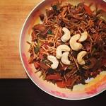 wok nudeln & gemüse
