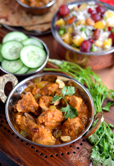 Kashmir Chicken Curry Murgh Masala Recipe