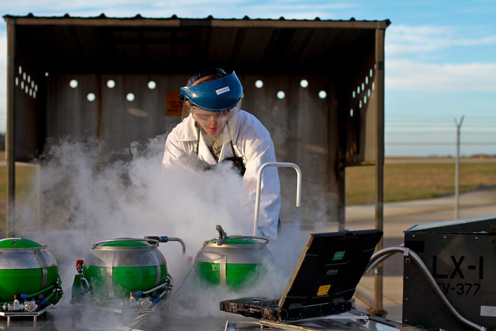 Liquid Oxygen Servicing