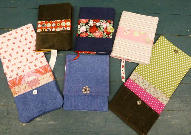 Journal Covers & Travel Sewing Pouch class Dec13