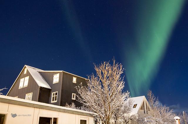 6:00 PM - Kp index 4 - Reykjavik!