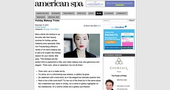 Holiday Makeup Tricks   American Spa