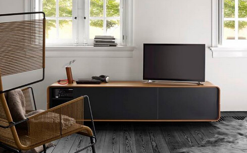 ligne roset modern classic tv console