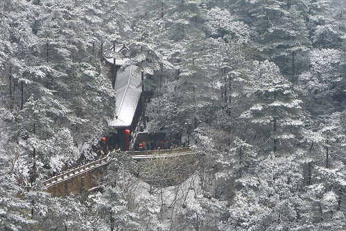 china snow buddhism ksitigarbha 安徽 九华山 佛教 池州 jiuhuashan 地藏菩萨 chizhou