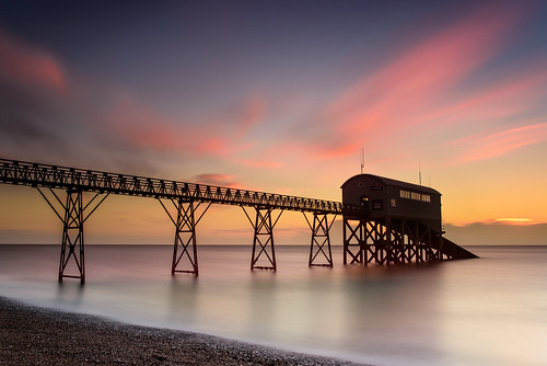 longexposure seascape beach sunrise dawn nikon whitewater westsussex shingle january lee nd filters grad southcoast selsey happynewyear d800 rnli firstlight 2014 lifeboatstation colourfulsky bigstopper sunsetsnapper mysticaldawn