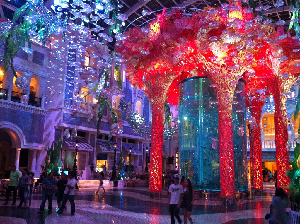 MGM Hotel Lobby, Macau