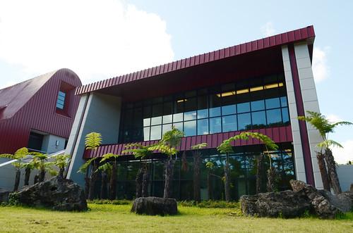 <p>Hale'ōlelo, the new home of the UH Hilo's Ka Haka 'Ula O Ke'elikōlani College of Hawaiian Language. The $21 million complex on Nowelo Street in the University Park of Science and Technology was designed by WCIT Architects of Honolulu, led  by Rob Iopa, a graduate of Waiākea High School and Hilo native.</p>