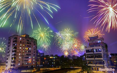 Fireworks at Shakrain Festival