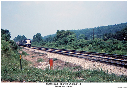 railroad train diesel tennessee railway trains southern f locomotive trainengine sr sou roddy coveredwagon fp7 f7 emd funit f7a aunit fouraxle fp7a cabunit