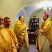 The consecration of a bishop | 1. Bishop Antoni Dziamjanka & Archimandrite Siarhiej Hajek & Fr. Michał Sapiel & Fr. Edmund Daŭhilovič
