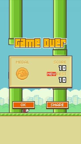 Flappy Bird 10