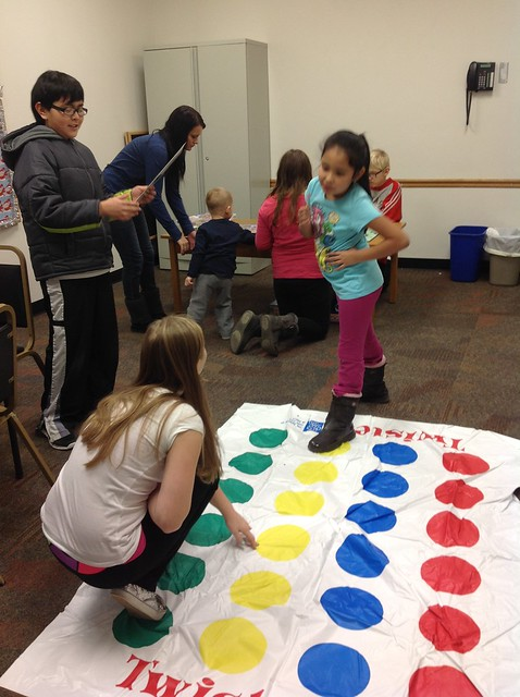 how to make a giant twister game