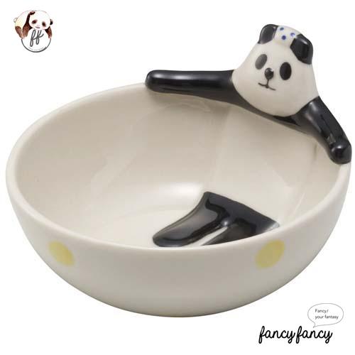 53.泡湯熊貓造型碗(兩個一組)