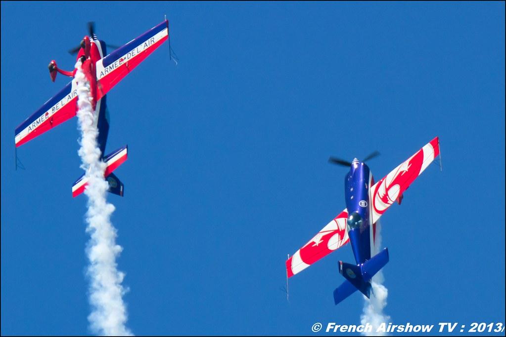 Patrouille EVAA ,60 ans Patrouille de France , Meeting Aerien 2013