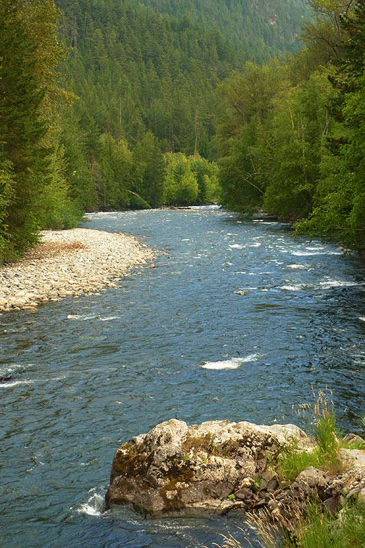 Atnarko River, Tweedsmuir South Provincial Park, Chilcotin, British Columbia, Canada