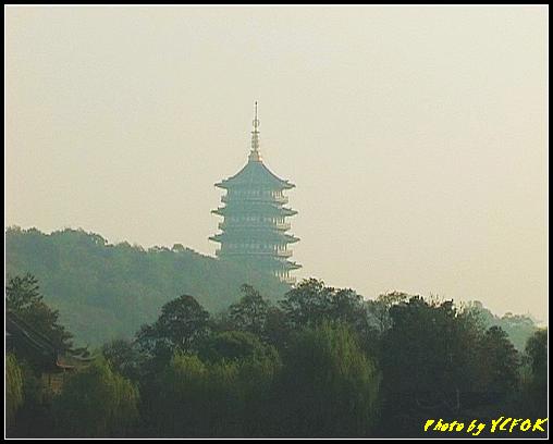 杭州 西湖 (其他景點) - 311 (在西湖十景之 花港觀魚 看雷峰塔 日落黃昏景)