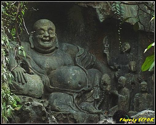 杭州 飛來峰景區 - 028 (飛來峰石雕佛像)