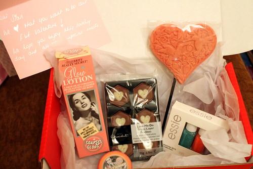 F&F Valentines Box