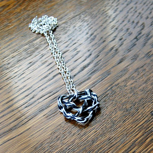 Heart Knot Necklace