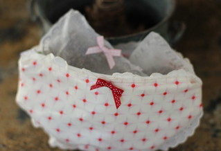 Sachets For the Underwear Drawer-A Tutorial