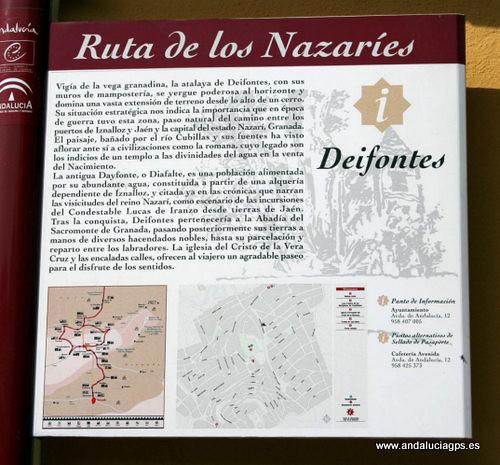 Granada - Deifontes - Ruta de los Nazaríes - 37 19' 33 -3 35' 44