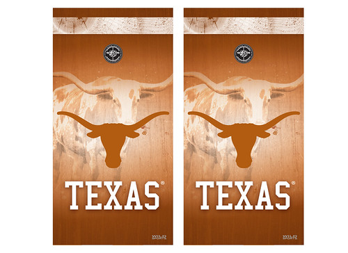 Texas Cornhole Game Decal Set