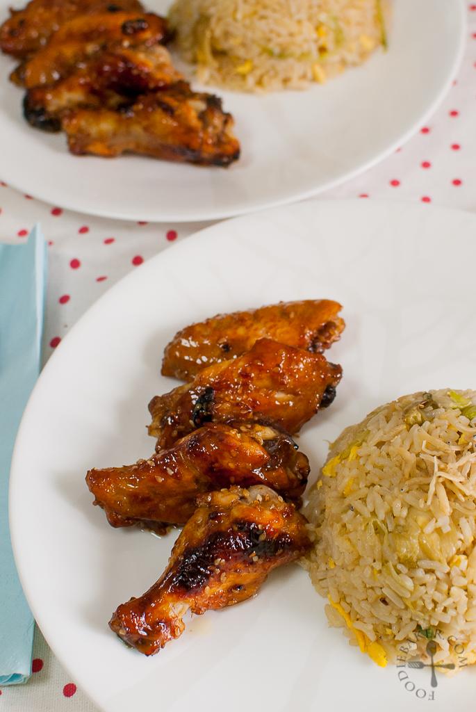 Baked Honey and Lemon Chicken Wings | Foodie Baker